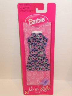 Barbie Doll 1998 Go in Style Fashions
