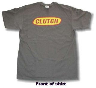 Clutch Oval Official Album Tour Logo Shirt