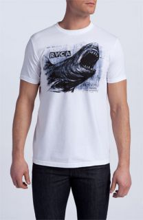 RVCA Great White Screenprint T Shirt