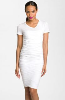 James Perse Ruched T Shirt Dress