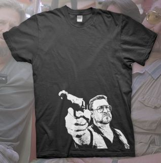 High Quality T Shirt Big Lebowski The Dude Abides Donny Coen