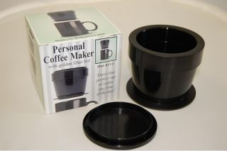 One Cup Coffee Maker With Permanent Filter : Steel VAcuum Coffee Maker (no filter) 8 Cups High Thermal Permanent