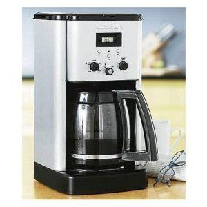 12 cup Porgrammable Coffee maker + Permanent gold tone filter Gift NEW
