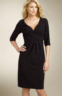 Donna Ricco Crepe Sheath Dress