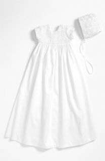 Little Things Mean a Lot Rosette Gown & Bonnet (Infant)