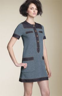 MARC BY MARC JACOBS Indigo Colorblock Sweater Dress
