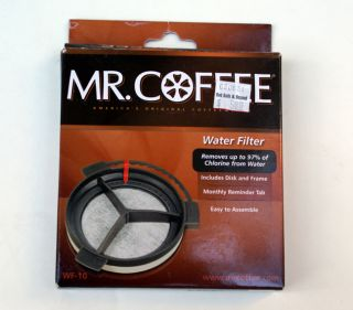 New Mr Coffee Water Filter WF 10