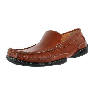 stacy adams mac cognac mens loafers size 11 m