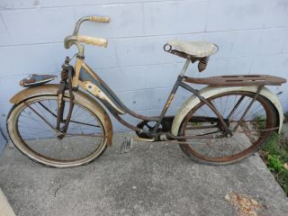Vintage Columbia Westfield Bicycle Bike 1956 Five Star Superb Campus