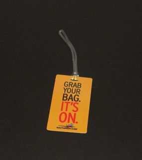 SOUTHWEST AIRLINES Luggage Tag Bag Tag Grab Your Bag ITs On New