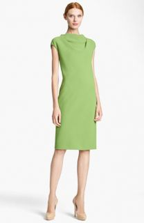 Max Mara Uovo Wool Crepe Dress