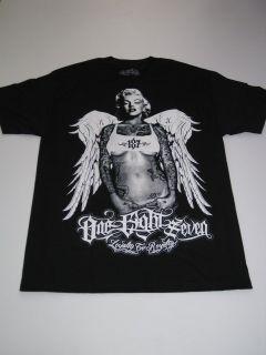 OG Angel 2 187 Inc Shirt Tee Black Mexico MMA Monroe SS Short Sleeve