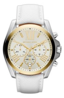 Michael Kors Bradshaw  Leather Strap Watch