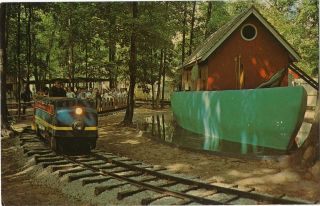Miniature Train Deer Forest Paw Paw Lake Coloma MI
