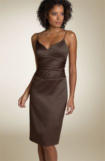 Nicole Miller Ruched Waist Sheath Dress