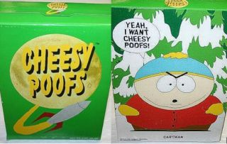 Comedy Central South Park Cartman Cheesy Poofs