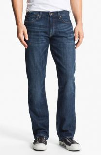 Lucky Brand 221 Original Slim Straight Leg Jeans (Medium Temescal)