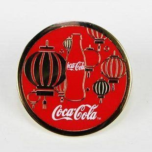 Coca Cola Coke Chinese New Year Pin