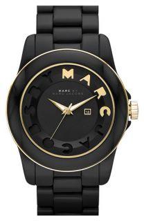 MARC BY MARC JACOBS Icon Stripe Resin Bracelet Watch