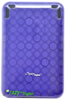 Purple TPU Case Cover Accessory for  Kindle 3 3G