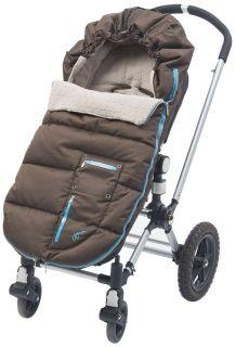 JJ Cole BundleMe Arctic Toddler Cocoa Lagoon Car Seat Cover Stroller