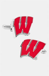 Ravi Ratan University of Wisconsin Badgers Cuff Links