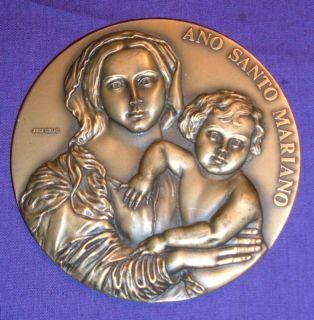 Marian Year Portugal 1988 Coelho Fatima ED Lusatenas 257gms MINT