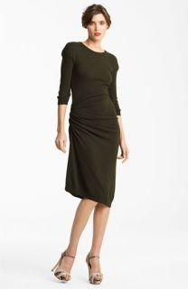 Nina Ricci Drape Jersey Dress
