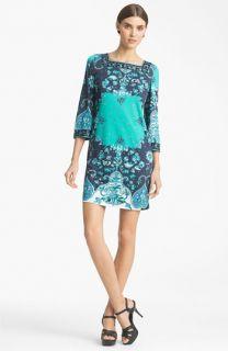 Emilio Pucci Print Jersey Shift Dress