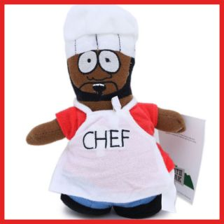 Comedy Central South Park Chef Plush Doll Figure 8in