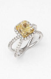 Bony Levy Fancy Yellow Diamond Ring ( Exclusive)