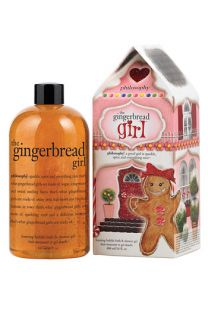 philosophy the gingerbread girl foaming bubble bath & shower gel
