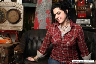 Sexy American Pickers Danielle Colby Cushman in Red Flannel