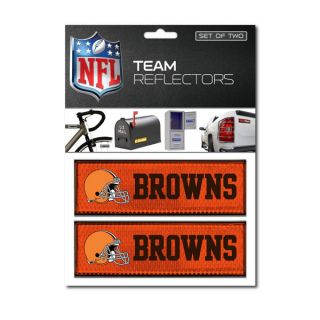 Cleveland Browns Locker Mailbox Auto Bike Car Reflectors Decal Emblem