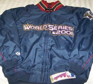 New 2001 World Series Jacket XL Arizona Diamondback New York Yankees