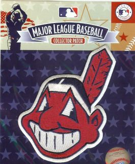 Cleveland Indians Chief Wahoo Logo Patch   100% Authentic MLB Official