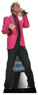Cliff Richard Lifesize Cardboard Cutout Standee Standup 50th