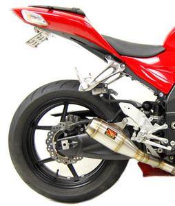 06 07 Kawasaki ZX10 Competition Werkes GP Race Slip On Exhaust