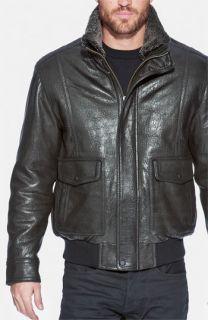 Andrew Marc Radar Leather Jacket