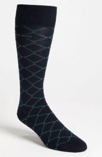 BOSS Black Argyle Socks