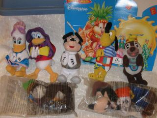 Disney Paris 2000 Lot Collectible McDonalds Toys Mickey Donald Friends