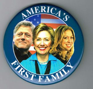 Hillary Clinton for President Pin Pinback Button A827