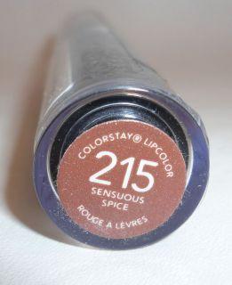 Revlon Colorstay Lipcolor Lipstick 215 Sensuous Spice