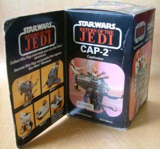 Cap 2 Captivator Star Wars Return Jedi Vintage Figure Vehicle French