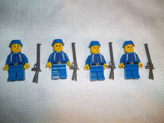 Lego Civil War Custom Union Cavalry Army Builder Set