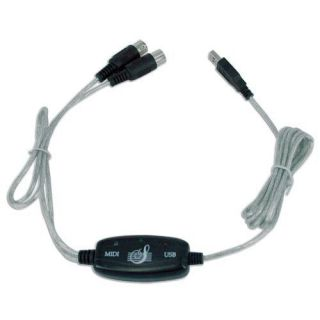 PC USB to MIDI Converter Cable Cord Line Adapter Keyboard Interface