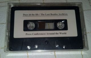 promo cassette Days in the life archives press conferences SEALED