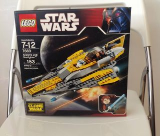 LEGO Star Wars The Clone Wars Anakins Jedi Starfighter 7669 NiB