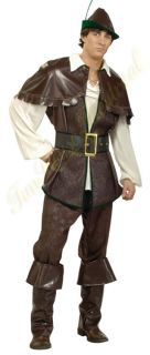 Robin Hood Halloween Costume Renaissance Medieval Outfit Large Adult