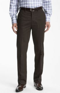 Façonnable Savon Flat Front Cotton Trousers